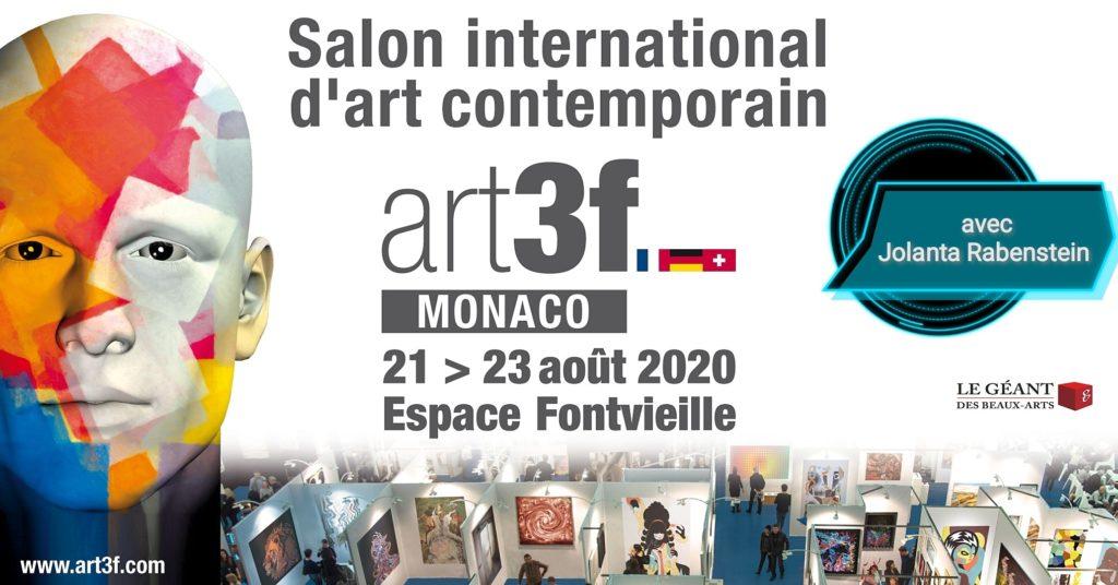 Exhibition Monaco Jolanta Rabenstein